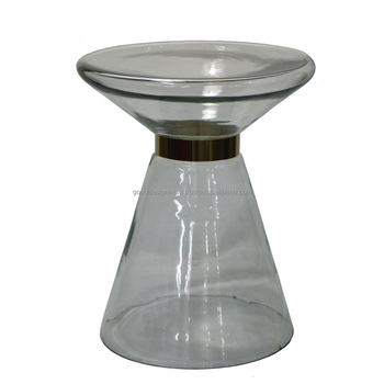 Small Round Glass Side Table,Corner Table,Coffee Table With Glass Top  Living Room Small Glass Table - Buy Round Glass Chrome Coffee Table,Oval  Glass ...