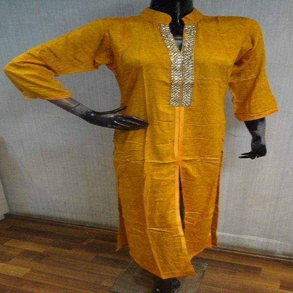 INDISCHE Dames Kurti, Borduren vrouwen Kameez, INDIA traditionele KurtI