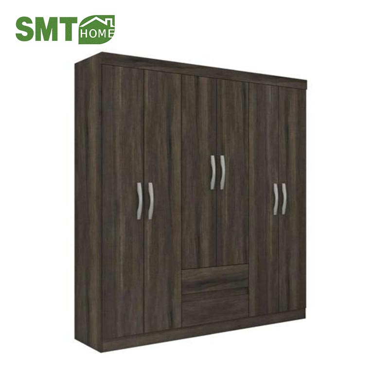 Modern MDF Cheap 3 Doors Corner Bedroom Wardrobe/Cabinet Design