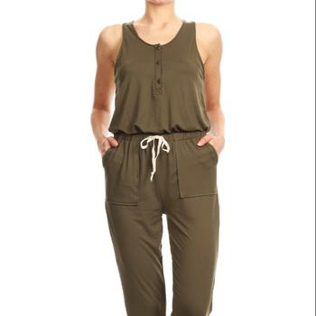 ea7e4cb3dbaa Womens Sleeveless Rompers Jumpsuits Spring Summer - Buy ...