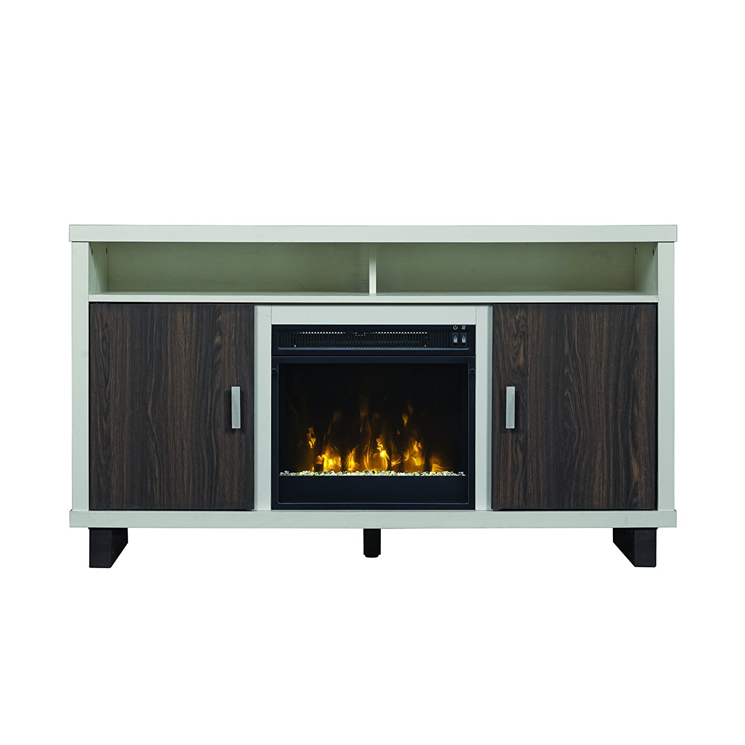 cheap uncategorized tv style fireplace and white electric of stunning ideas stand image combo imgid