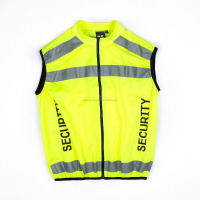 SAFEPRO CONSTRUCTION HIGH VISIBILITY REFLECTIVE SAFETY VESTS POLICE SECURITY LED VEST EUROPE SIZE
