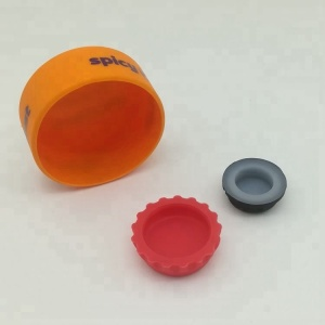 Silicone Universal Bottle Cap, Silicone Water Bottle Cap, Silicone Rubber Bottle Cap Seal