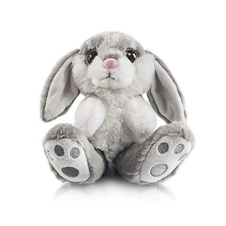 Mother and Baby Custom Gray Plush <strong>Rabbit</strong> Animal Soft Toys