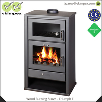 Modern Steel Design Body Wood Burning Stove for Sale