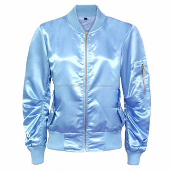 satin label bomber jacket supplier