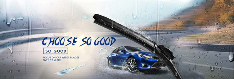 Car Spare Parts Silicone Heated Windshield Wiper Blade