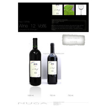 Red wine - Spanish red Wine - 12 % - 0.75 L Bottle