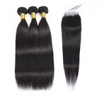 wholesale remy brazilian human hair weave bundles with closure