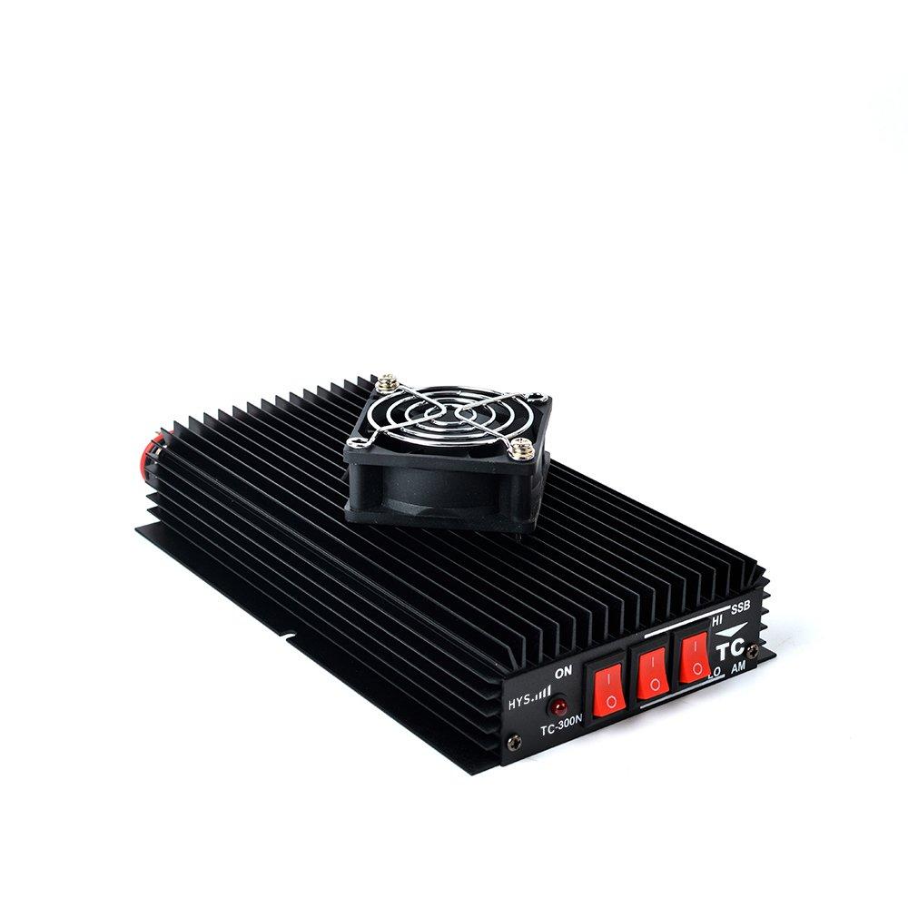 TWAYRDIO TW-300N HF High Power Amplifier for Handheld Ham CB Radio with a Mini Fan
