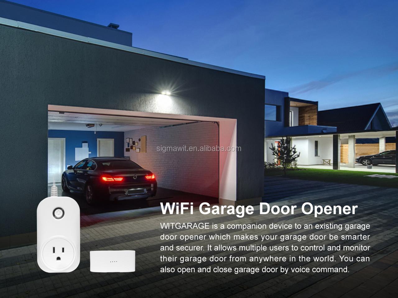 Smart Wifi Garage Door Opener Remote Let Your Garage Door