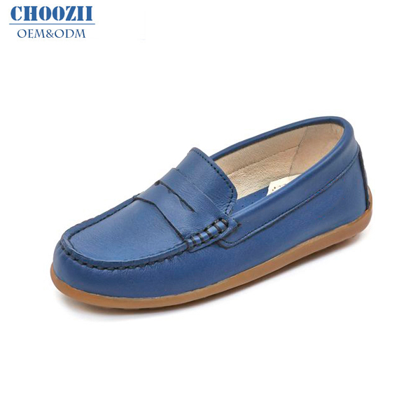 Hot Sale Quality Leather Children Shoes