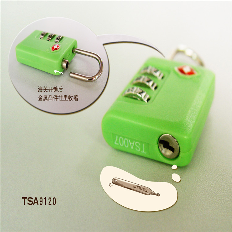 wholesale tsa digital plastic custom luggage lock