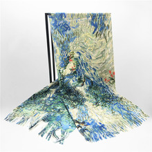 Personnalisé hiver laine châles <span class=keywords><strong>polyester</strong></span> foulard pashmina imprimé <span class=keywords><strong>cachemire</strong></span>