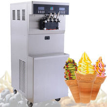 Professional Ice Cream Maker/Soft Ice Cream Machine/หยอดเหรียญ Soft Ice Cream Machine