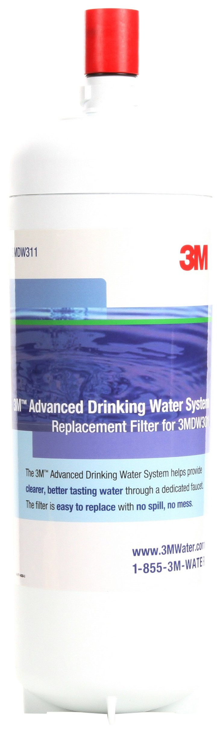 3M 23194 3MDW311-01 Replacement Filter Cartridge for Drinking Water System