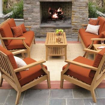 59d7184237 New Modern Garden Outdoor Solid Teak Wood Sofa Set - Buy Teak Wood ...