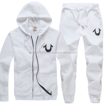 hot sale online 2e89a 910f8 white stylish branded sports wear track suits, sports wear cotton fleece tracks  suits, men
