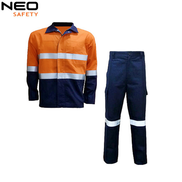 Custom Made Safety Overalls Coat Pant Men Suit
