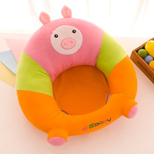 Plush Baby Chair Sitting Support Cradle Baby Sofa High Children's Sofa Cushion Car Seat Pillow Comfortable Lounger Chair