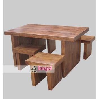 Eettafel Set Met 4 Stoelen.Nieuwe Stijl Houten Sheesham Dikke Houten Plaat Rechthoekige Eettafel Set Met 4 Stoelen Buy Nieuwe Stijl Eettafel Set Rechthoekige Eettafel Met 4