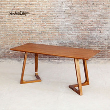 Modern Luxury Solid Teak Wood Dining Table from Indonesia Furniture