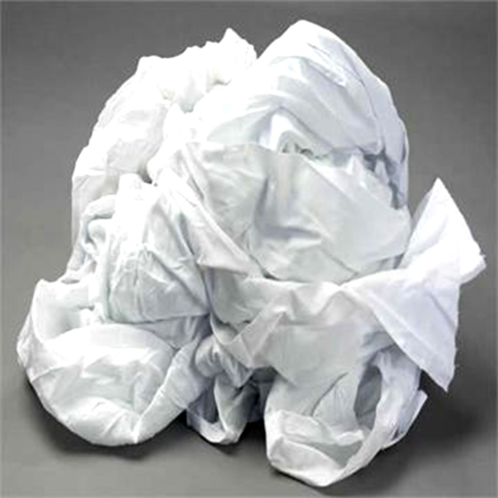 High Quality White 100% Cotton Waste