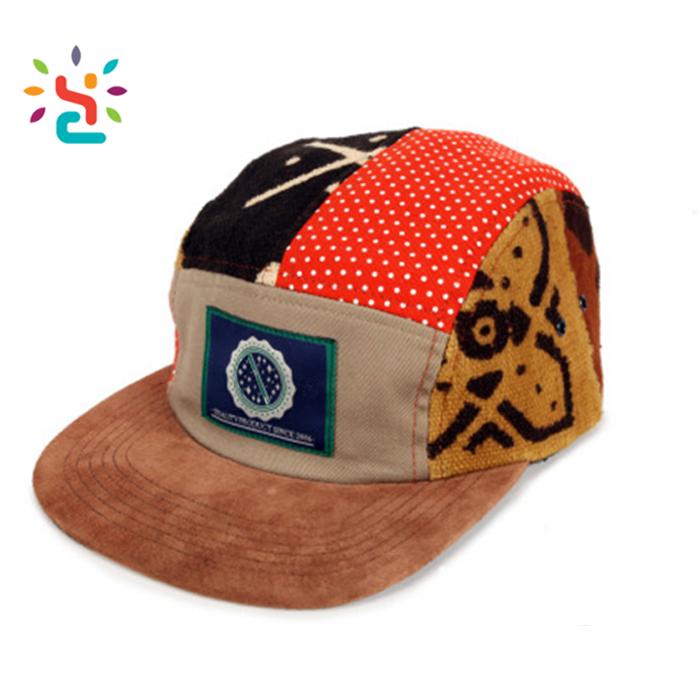 Different African Print 5 Panel Hats Custom Winter Corduroy Trucker Hat No  Mesh Xxl Snapback Caps Shop - Buy Printing Snapback Hat,Different Print