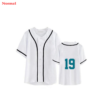 v-neck custom sublimated  baseball jersey wholesale