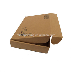 Recycled Brown Kraft Hard Paperboard Packaging Cardboard Box For Shipping Mailers