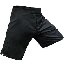 Zwart mma shorts vechtsport kick boxing shorts