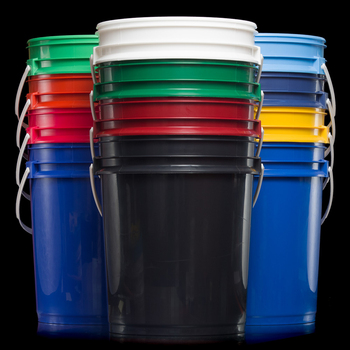 18/19 liter litre 4.75/5 gal gallon airtight PP bucket with handle and lid