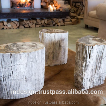 Fabulous Top Polished Petrified Wood Stools Side Tables Hockers Buy Petrified Wood Stools Petrified Wood Side Table Coffee Table Petrified Wood Product On Inzonedesignstudio Interior Chair Design Inzonedesignstudiocom