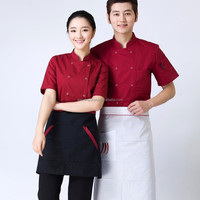 Uniform for waiter and waitress at restaurant