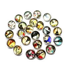 Маленькие Стеклянные Подвески Mixs, 10 шт./лот, 12 мм, с кнопками, собаками, кошками, лапами, животными, подходят для самостоятельного изготовлени...(Китай)