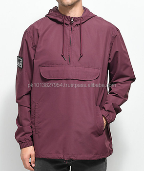 Custom Embroidered Windbreakers Lightweight Waterproof Coaches Jackets Custom Nylon Rain Jackets
