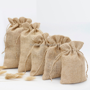 wholesale natural burlap rice jute bags 25kg