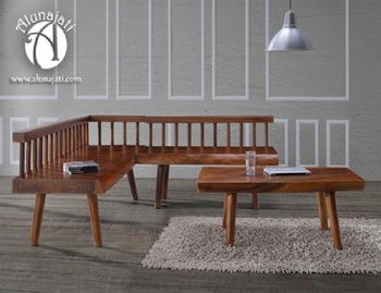 Corner Bench Sofa Set,Teak Wood Sofa Set - Buy Modern Wooden Sofa  Set,Corner Bench And Coffee Table,L Shaped Sofa Set Product on Alibaba.com