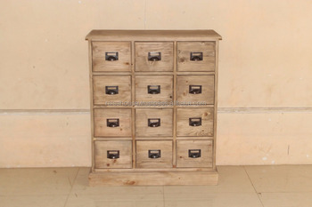 Indonesia Furniture-Bohemy 12 Drawer Chest-Pine Furniture