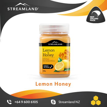 High Vitamin C Natural fruit Flavored Lemon honey 500g