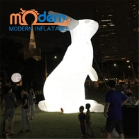 Alice In Wonderland Giant 5m Inflatable Rabbit/Bunny