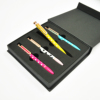 High-End Low MOQ Factory Wholesale Personalized Boxed Business Pen Gift Set For Corporate Promotion