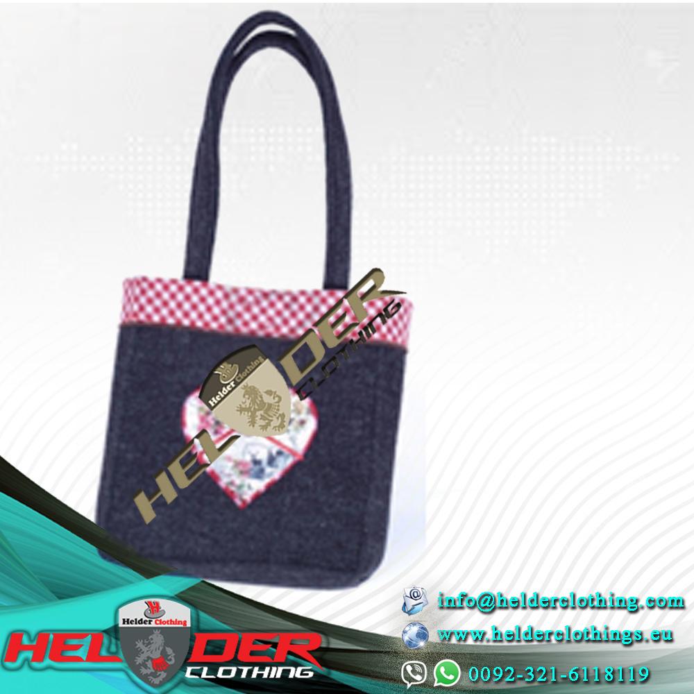 Best Quality Trachten Las Dirndl Handbags German Leather Office Lady Ruffle