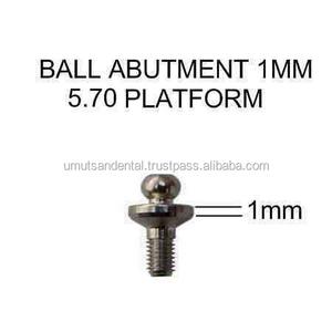Titanium Ball Abutment for Dental Implant 5 70 mm Platform