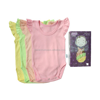 0ade04006 Baby Ruffle Clothes Jumper For Baby Girl
