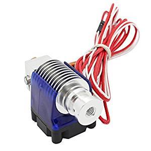 0.5MM J-Head nozzle - SODIAL(R)3D Printer Hotend J-head nozzle Cooling Fan for Filament: 1.75mm Nozzle: 0.5MM