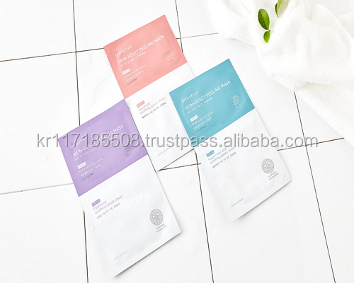 Innisfree Skin Reset Peeling Mask Sheet (3 types) 6ml + 20ml