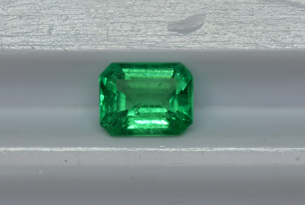 "2.70 cts Emerald Stone Colombian emerald ""Cut Emerald"" Clean"