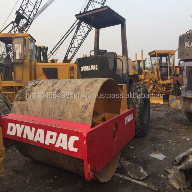 DYNAPAC 133 double drum roller 13 ton komatsu road roller Sell at a low price