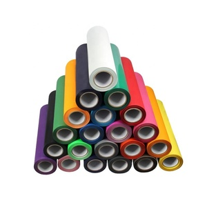 Wholesale korea quality textil flex htv rolls pu heat transfer vinyl for clothing t-shirt